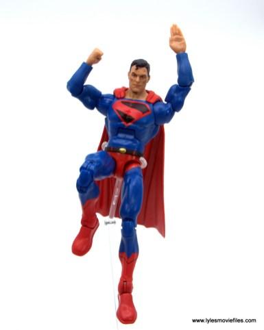 DC Multiverse Kingdom Come Superman figure review - landing