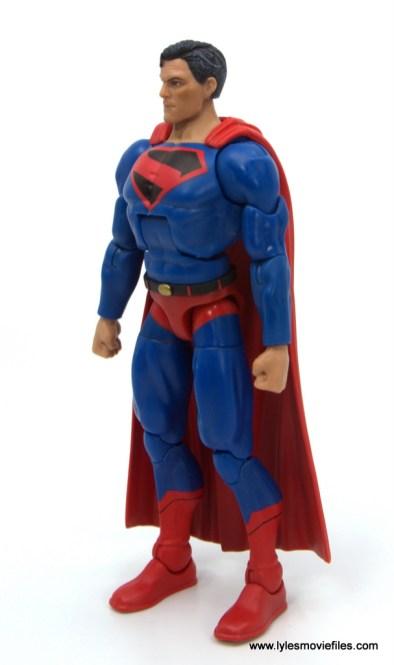 DC Multiverse Kingdom Come Superman figure review - left side