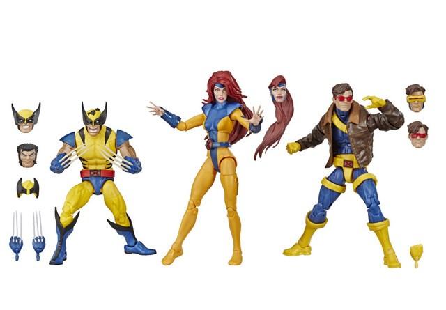 HASBRO MARVEL X-MEN LEGENDS SERIES 3-pack (oop)