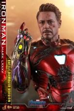 Hot Toys Avengers Endgame Iron Man Mark LXXXV Battle Damaged Figure - oh snap