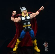 Marvel Legends 80th Thor figure review - flexing