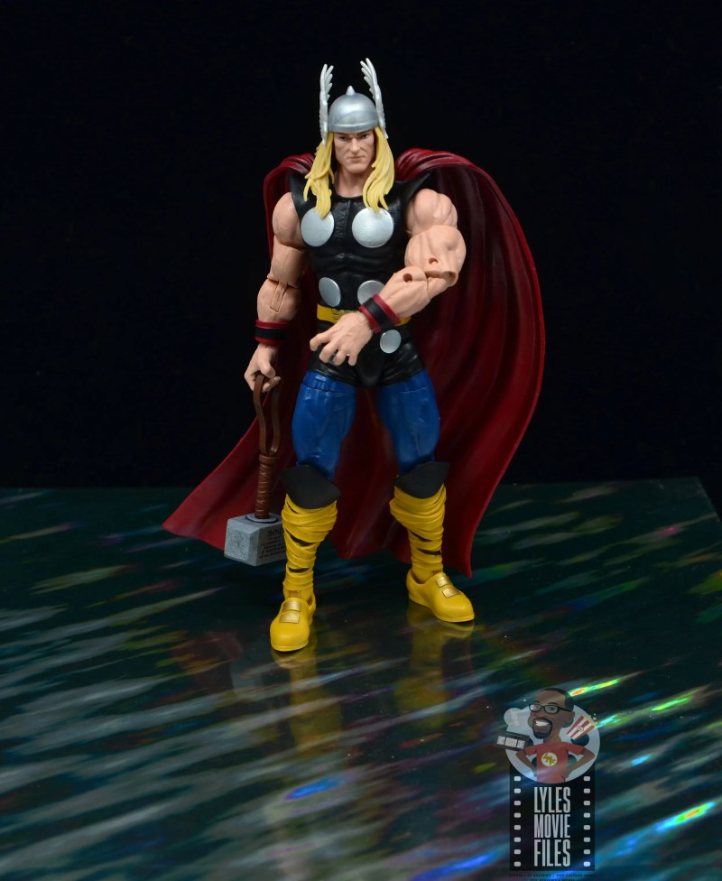 Marvel Legends 80th Thor figure review - on the rainbow bridge now