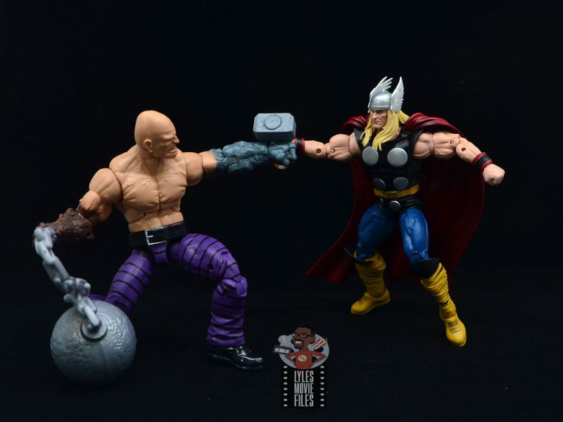 Marvel Legends 80th Thor figure review - vs absorbing man