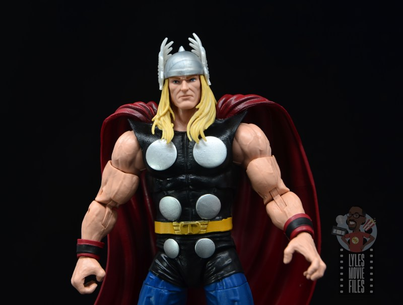Marvel Legends 80th Thor figure review - wide