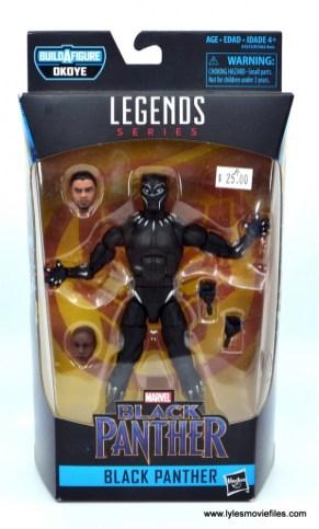 Marvel Legends Black Panther BAF Okoye figure review - package front