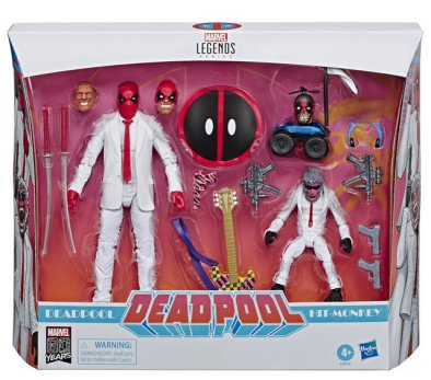 Marvel Legends Fan Channel Exclusive Deadpool & Hit Monkey Suits 6 Action Figure 2 Pack