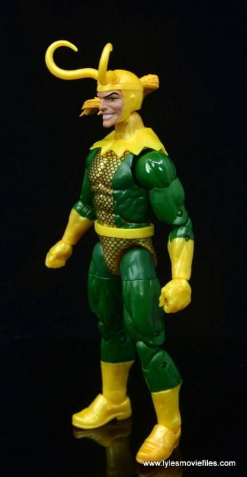 Marvel Legends Loki figure review - left side