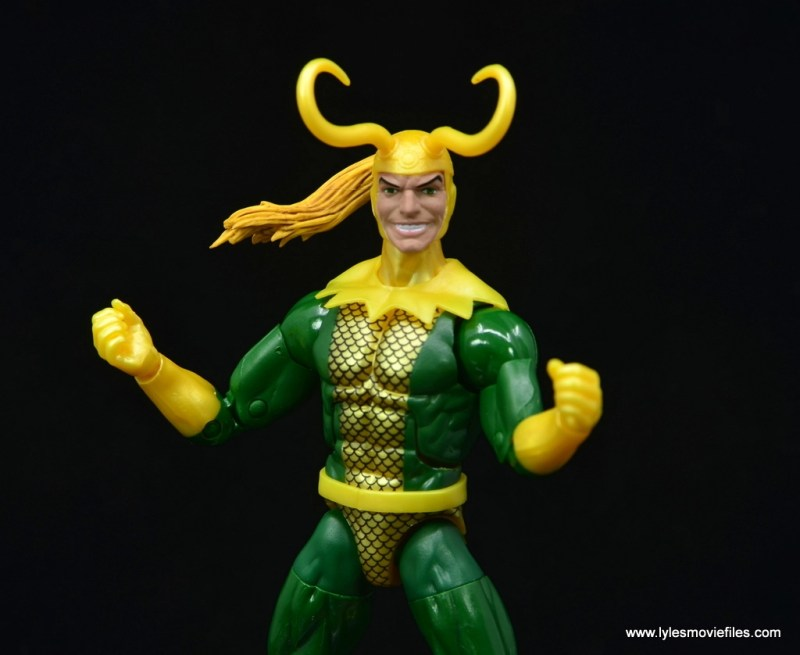 Marvel Legends Loki figure review - wide shot