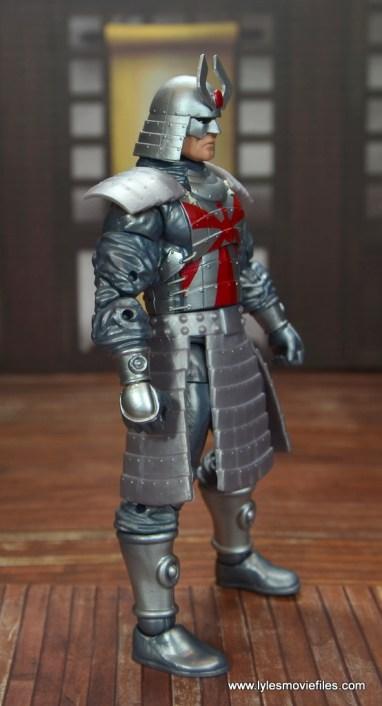 Marvel Legends Silver Samurai figure review - right side