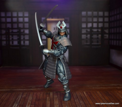 Marvel Legends Silver Samurai figure review - time for combat