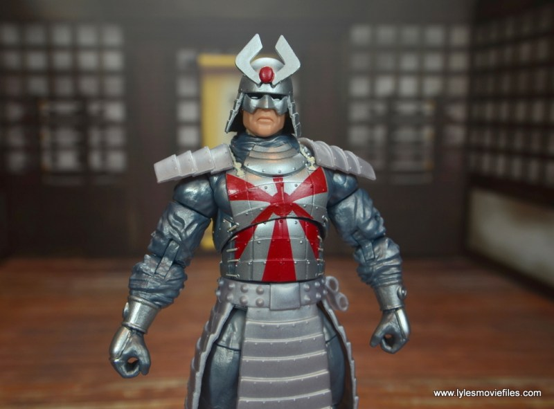 Marvel Legends Silver Samurai figure review - wide shot