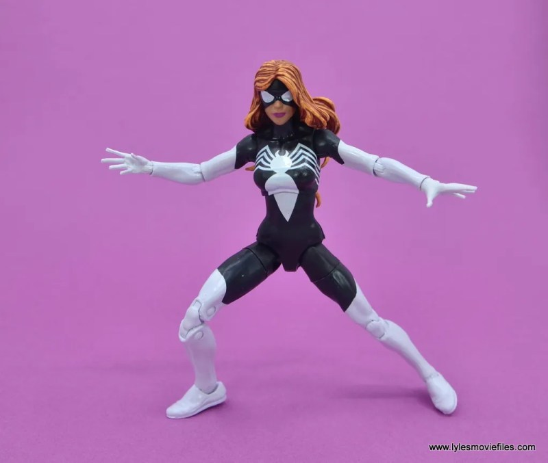 Marvel Legends Spider-Woman figure review - ready for battle