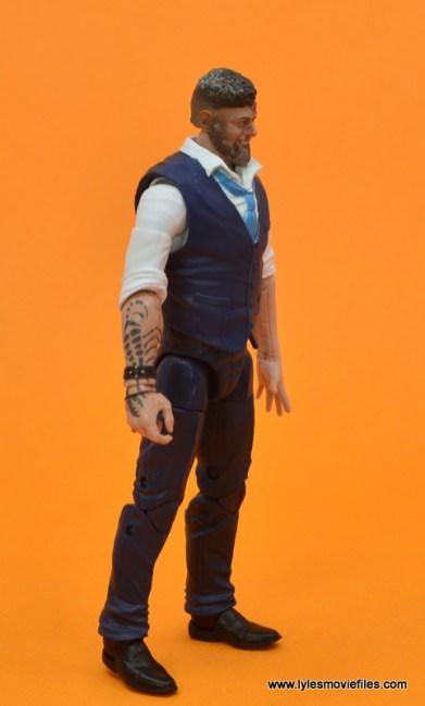 Marvel Legends Ulysses Klaue figure review - right side