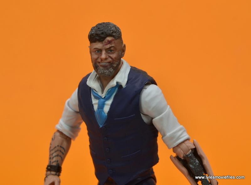 Marvel Legends Ulysses Klaue figure review - wide shot