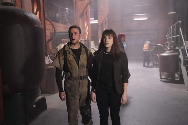 agents of shield collision course part 1 review - fitz, gemma and izel