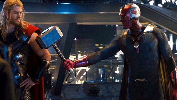 avengers age of ultron thor and vision