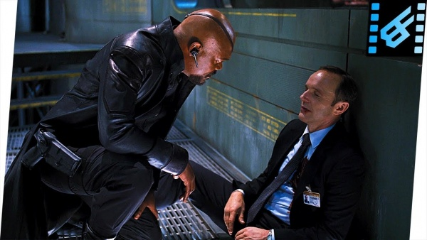 avengers - nick fury with agent coulson