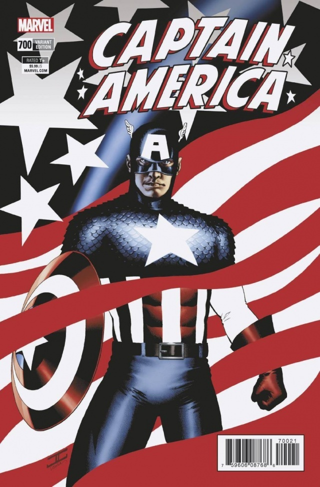 captain america 700 variant edition