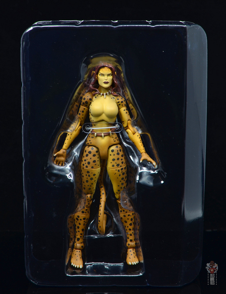 dc essentials cheetah figure review - in tray