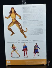 dc essentials cheetah figure review - package rear