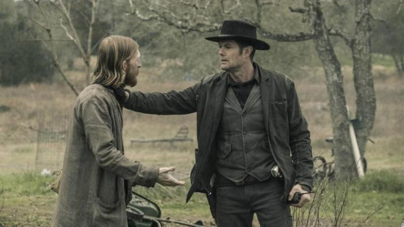 fear the walking dead the little prince review - dwight and john