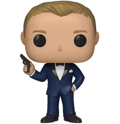 funko pop 007 casino royale james bond figure