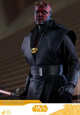 hot toys solo a star wars story darth maul figure - outfit details