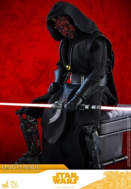 hot toys solo a star wars story darth maul figure - seated