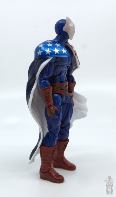 marvel legends citizen v figure review - right side