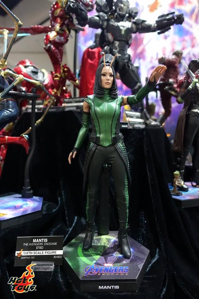 sdcc 2019 hot toys reveals - avengers endgame mantis