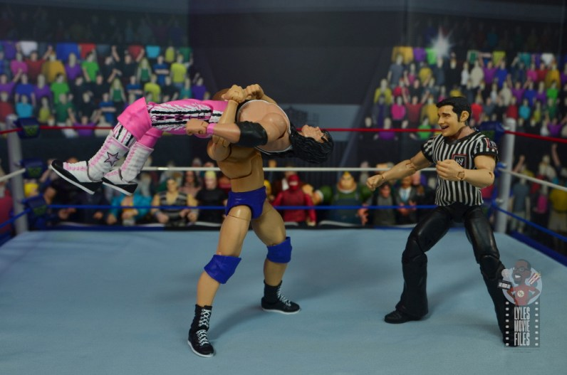wwe elite bob backlund figure review - back breaker to bret hart