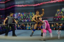 wwe elite bob backlund figure review - forearm smash to bret hart