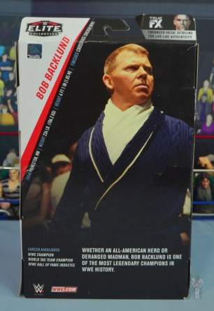 wwe elite bob backlund figure review - package rear