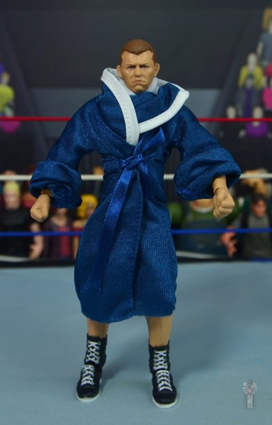 wwe elite bob backlund figure review - robe front
