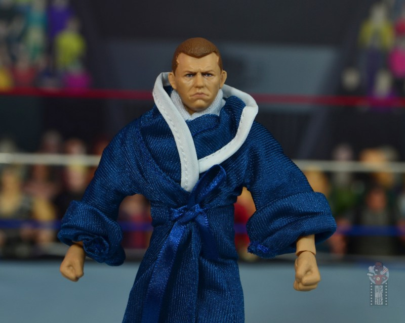 wwe elite bob backlund figure review - wide shot