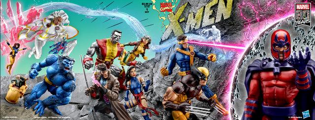 x-men #1 marvel legends form