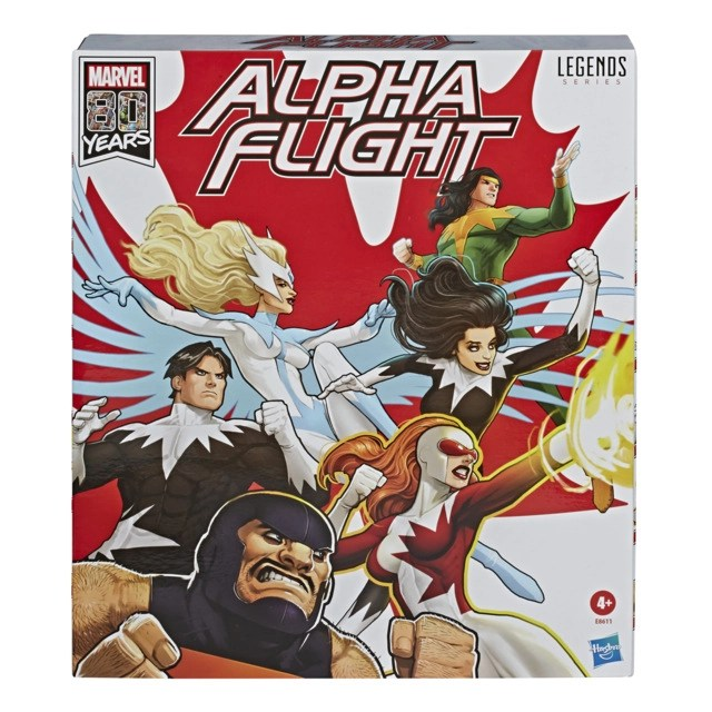 Marvel Legends Series 6-Inch Alpha Flight 6-Pack in pck 2