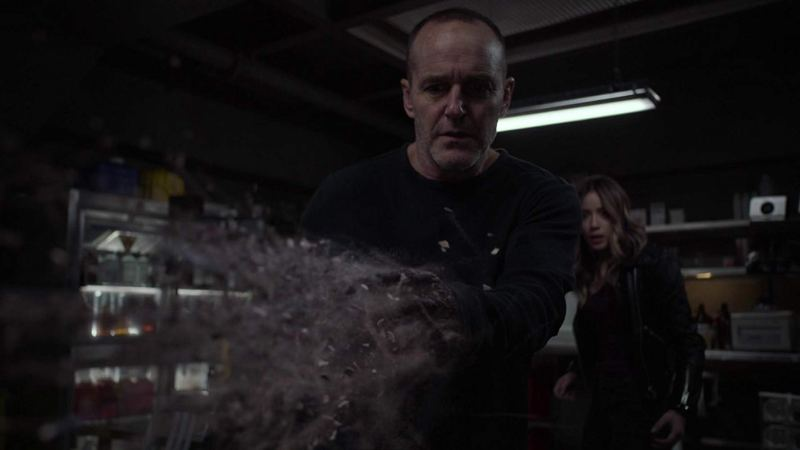 agents of shield from the ashes -sarge and daisy