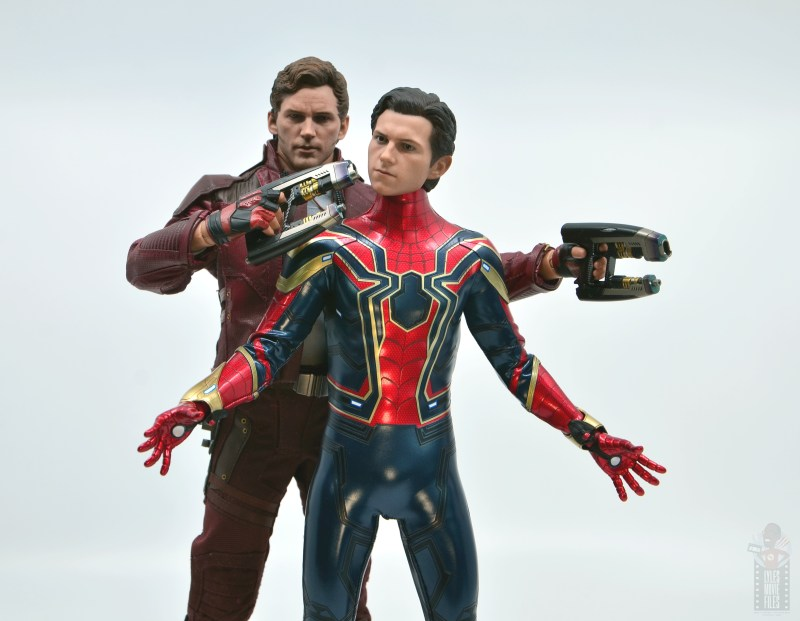 hot toys avengers infinity war iron spider figure review - we're the avengers man