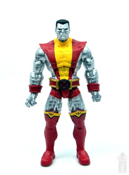 marvel legends colossus and juggernaut figure review 80th anniversary - colossus front