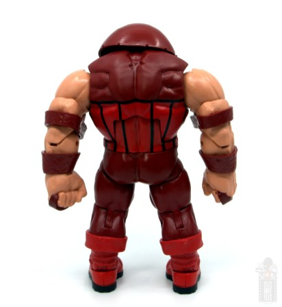 marvel legends colossus and juggernaut figure review 80th anniversary - juggernaut rear