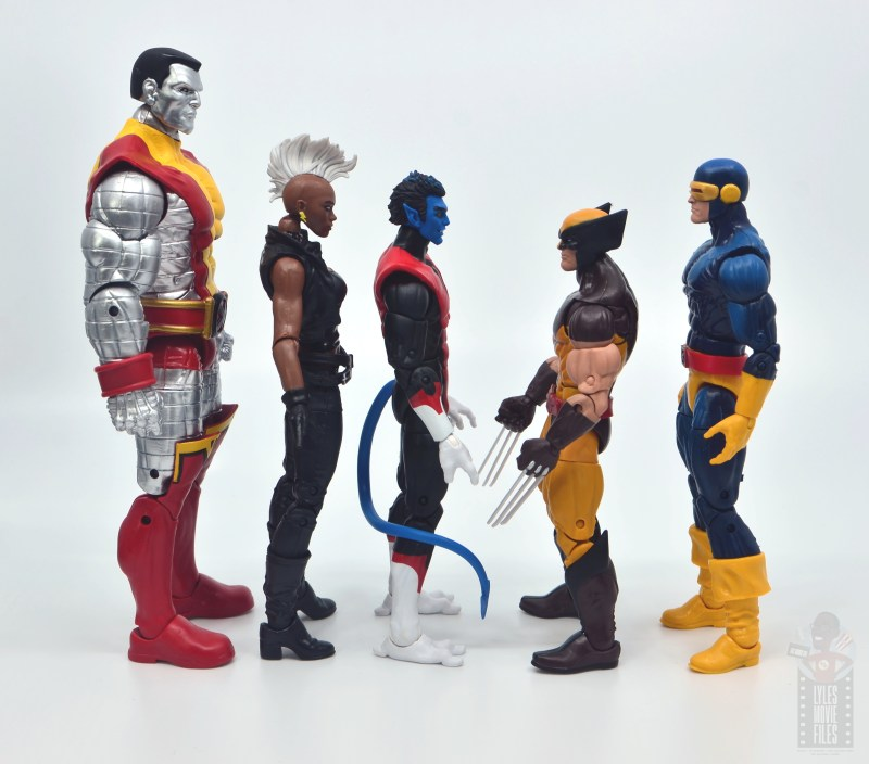 marvel legends colossus and juggernaut figure review 80th anniversary - scale with x-men