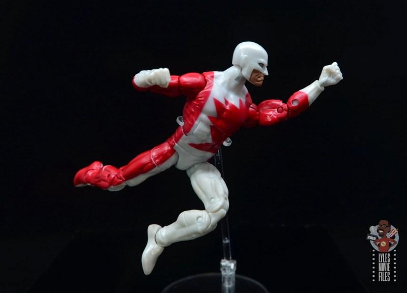marvel legends guardian figure review - flying