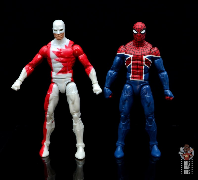 marvel legends guardian figure review - with spider-man uk