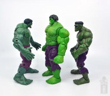 marvel legends hulk vs wolveringe figure review 80th anniversary - hulk facing face off hulk and first appearance hulk