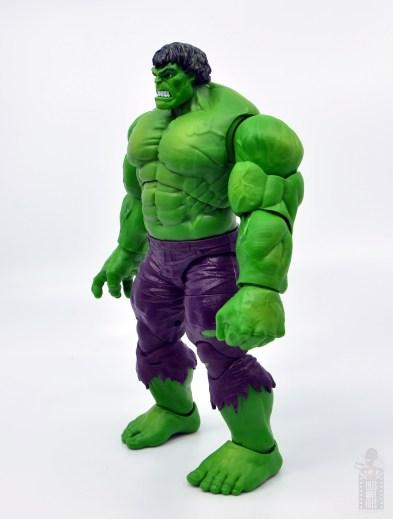 marvel legends hulk vs wolveringe figure review 80th anniversary - hulk left side