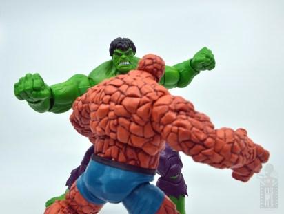 marvel legends hulk vs wolveringe figure review 80th anniversary - hulk vs thing face off