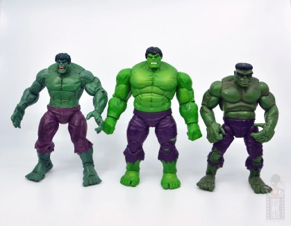 marvel legends hulk vs wolveringe figure review 80th anniversary - hulk with face off hulk and first appearance hulk