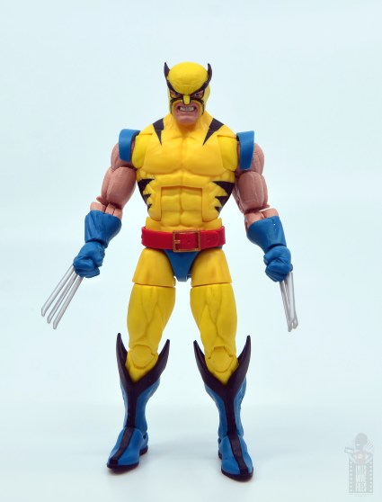 marvel legends hulk vs wolveringe figure review 80th anniversary - wolverine claws to side