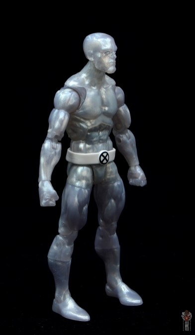 marvel legends iceman figure review - right side